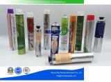 Leeres zusammenklappbares kosmetisches pharmazeutisches Skincare Sahnealuminiumverpackenbehälter-Gefäß