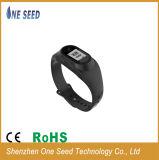Pulseira de vigilância inteligente Podômetro relógio de pulso com clip para venda