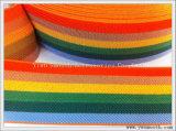 Uso largo tessuto multicolore della fascia elastica di modo per gli accessori dei vestiti