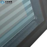Guichet en verre Tempered personnalisé de double vitrage de couleur pour le matériau de construction