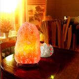 Деревянный низкопробный естественный Himalayan светильник каменной соли