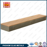 De bimetaal Hete Verkoop van de Platen van het Koper Beklede in Provincie Dalian/Henan/Sichuan/Hunan