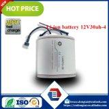 Lítio do bloco 30ah 12V da bateria recarregável
