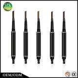 Geschenk 5 Farben erhalten doppelseitiger Kosmetik-Augenbraue-Bleistift mit Pinsel