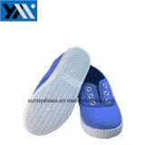 Le design de mode des chaussures en toile pour les enfants des chaussures de course