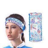 Assorbire le sciarpe di collo multifunzionali UV senza giunte del turbante del sudore (YH-HS403)