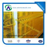 PVCは機密保護のエレクトロによって溶接された金網の塀に塗った