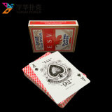 cartões de jogo do núcleo do preto do póquer da qualidade do casino de 63X88mm com laminação de linho