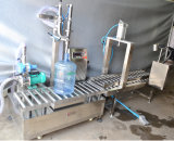 온화한에서 유리제 Botter 물 충전물 기계, 좋은 품질 물과 주스 생산 라인, 밀봉 및 캡핑
