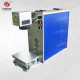 Mini machine tenue dans la main portative d'inscription de laser de la fibre 20W avec la caméra ccd