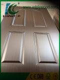 Piel moldeada HDF 3m m, 4m m de la puerta del papel de la melamina
