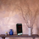 Reloj de tiempo único del vector de la visualización de la temperatura del modelo del diseño LED Digital Smartphone