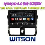 """Witson 10.2 """" Grote Androïde 6.0 Auto van het Scherm DVD voor Toyota Vios 2014"""