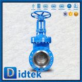 Valvola a saracinesca manuale commerciale dell'acciaio legato di assicurazione Wc6 di Didtek