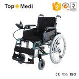 [مديكل قويبمنت] يدويّة كهربائيّة يطوي كرسيّ ذو عجلات مع [بغ] جهاز تحكّم
