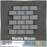 Mosaico barato del mármol del precio de la alta calidad, mosaico de piedra de mármol blanco