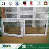 Vuelta plástica Windows de la inclinación de la seguridad del impacto del PVC de la ventana