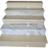 Естественная лестница камня мрамора гранита строительного материала для шагов