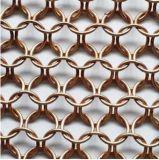 Maglia dell'anello del metallo per il divisore e la decorazione dello spazio