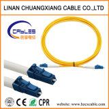 Het Koord lc-LC van het Flard van de Kabel van de vezel kiest Wijze 1m uit