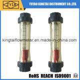 Type en plastique compteur de tube de débit de rotamètre