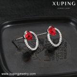 Последняя разработка Xuping Сердечка из кристаллов Swarovski Гуанчжоу моды шпильки крепления серьги