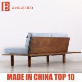 Sofa en bois de tissu de loisirs nordiques modernes de type pour l'appartement