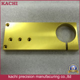 De aangepaste Delen van het Aluminium van de Precisie met het Gouden Anodiseren