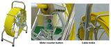 """8 """" LCDのビデオモニタ鍋はまたはテキスト著者が付いている360度ダクト点検ロボットを傾ける"""