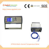PC 소프트웨어 (AT4516)를 가진 체온 미터