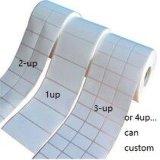 Etiqueta autoadhesiva auta-adhesivo del papel revestido del molde