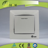 MODO variopinto del piatto certificato CE/TUV/CB 1 di standard europeo CON l'interruttore D'ARGENTO della parete del LED
