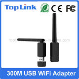 Top-GS07 Ralink Rt5572 300Mbps Dual Dongle sem fio da rede do USB WiFi da faixa com a antena externa Foldable