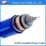 19/33kv XLPE Insluated e cabo distribuidor de corrente blindado de fio de aço