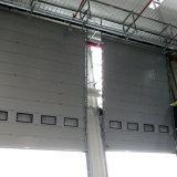 Elektrische industrielle thermische obenliegende Schnittisoliertür/anhebende Tür