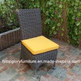 알루미늄 PE에 의하여 길쌈되는 등나무 옥외 가구 단 하나 의자