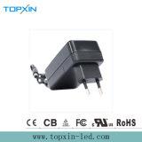 adaptateur d'alimentation approuvé AC/DC de commutation de fiche de mur de la CE 18W