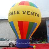 Personalizou seu balão à terra da bandeira de Repalceable da cópia do logotipo