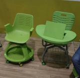 Съемный пластичный стул школы тренировки Steelcase с пусковой площадкой сочинительства (SF-50F)