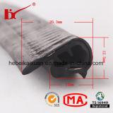 Tira de borracha em forma de u do selo do produto de Kaixuan para Windows de vidro
