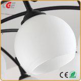 Las lámparas LED LED modernos de alta demanda de la luz Chanderlier colgante colgante