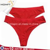 Types sexy de nouveaux produits de sous-vêtement de coton différents culottes sexy de lanière de filles adultes de Chine