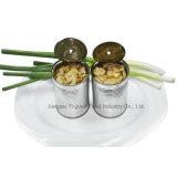 Ningún plaguicida buena venta de comida verde de alta calidad de setas en conserva