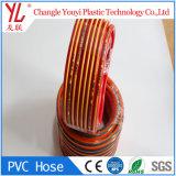 Fabrico chinês melhor qualidade de Fibra de PVC tubo de borracha trançada
