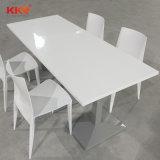 현대와 튼튼한 간이 식품 단단한 지상 대중음식점 테이블 및 의자