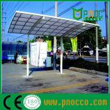 ポリカーボネートの屋根車の駐車は卸しで取除く(127CPT)
