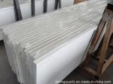 Matériaux de construction de cristal de quartz blanc pierre artificielle des comptoirs de quartz
