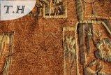 シュニールによって編まれるジャカードファブリック(FTH31077)