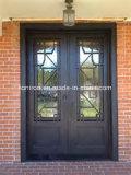 振動開いた標準的な錬鉄のドアの本管デザイン