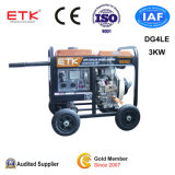 中国(3KW)の普及したディーゼル発電機の製造者